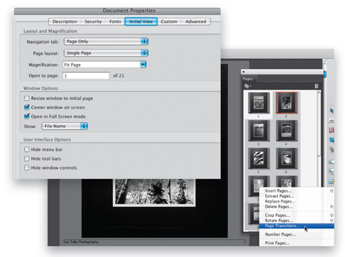 Create Digitally Framed Images with Acrobat