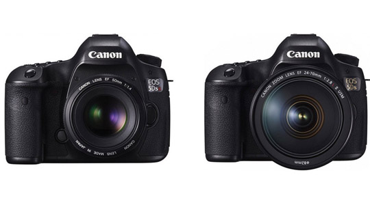 Just Announced: The Canon 5DS and 5DS R