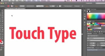Illustrator Quick Tips: Grab Hold of the Power of Touch Type