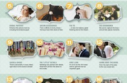 20 Must Have Shots for Wedding Photographers