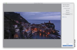 How Do I Stitch Together a Pano in Lightroom?