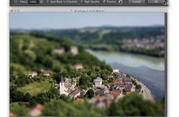 How to Get the Tilt Shift Effect in Photoshop