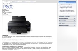 New Epson Printer is Announced