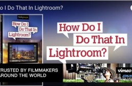Read Scott Kelby's New Lightroom Book Online for Free NOW!
