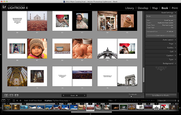 Create a Photographic Story in Lightroom with Photo Books