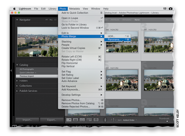 Stitching Panoramas Right in Lightroom CC