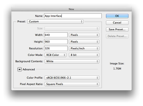 Designing iOS Tab and Navigation Bars in Photoshop