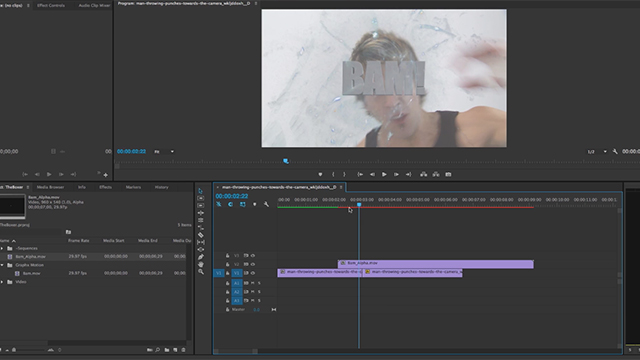Exporting Video With an Alpha Channel from After Effects