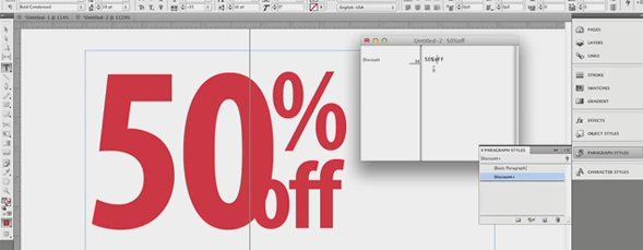Using Story Editor in InDesign CS5