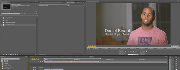 Designing Titles with Adobe Premiere