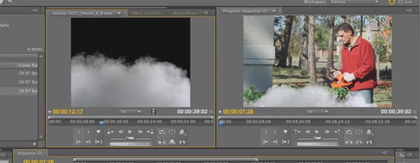 Alpha Adjust Filter in Premiere Pro