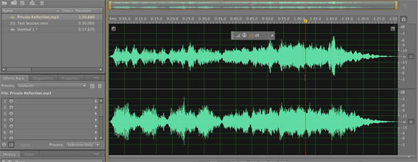 Automatic Cross-Fading in Adobe Audition