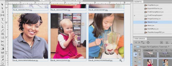 Creating Quick Captions in InDesign CS5