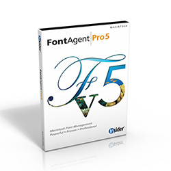 FontAgent Pro 5 for Mac