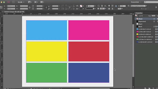Swatch Groups Come to InDesign CC