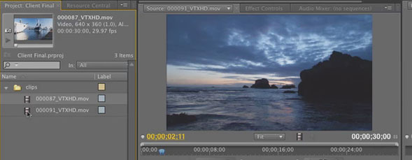 Input and Export from Premiere Pro CS5