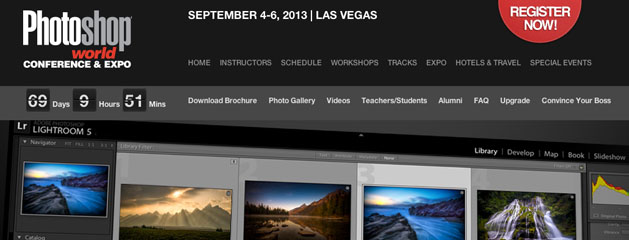 Announcing The Lightroom Conference At Photoshop World