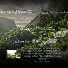 Adobe Releases New Version of Lightroom