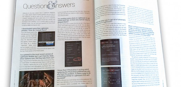 "My New Q&A Column in ""Lightroom Magazine"""