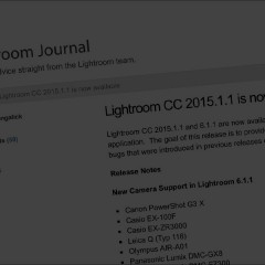 Adobe released Lightroom update/bug fix