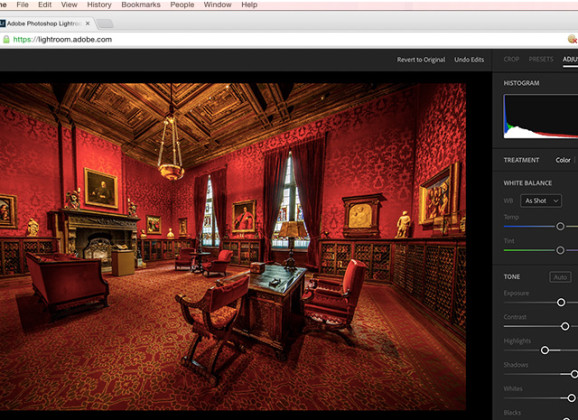 Lightroom in Your Web Browser