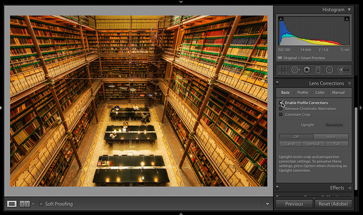 What To Do When Lightroom Can't Find Your Lens Profile