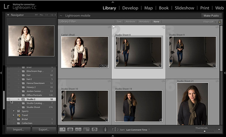 Really Handy Tips for Client Proofing Using Lightroom Web