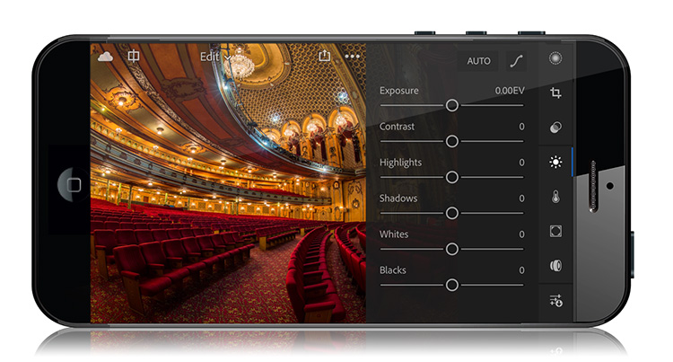 Lightroom Mobile Update: New UI, Powerful New Camera App, Other