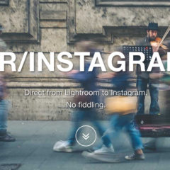 LR/Instagram Plug-in — Going Direct from Lightroom to Instagram