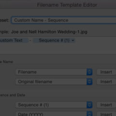 Creating Your Own Custom File Naming Templates