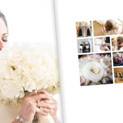 How to Create a Beautiful Custom Wedding Book Page Print Layout