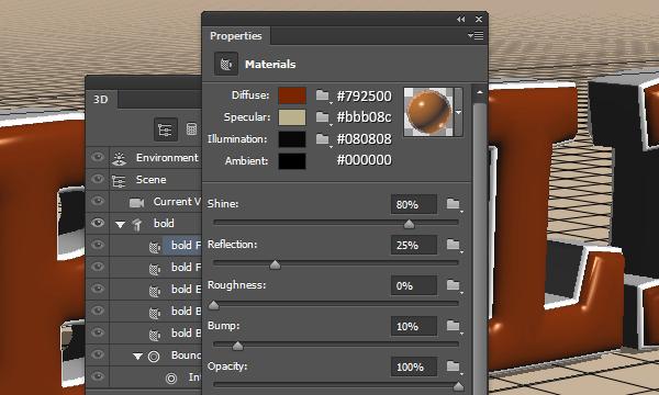 3D Bold Text Effect