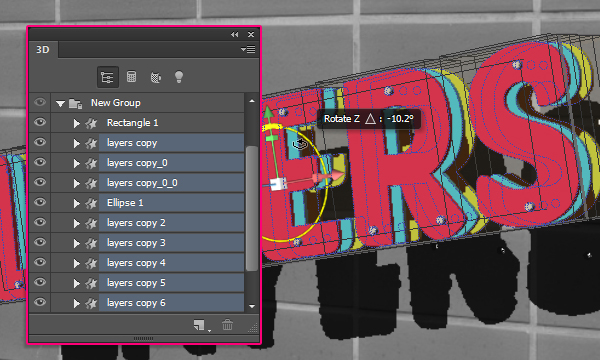 3D Layers Text Effect in Photoshop CS6 | Planet Photoshop