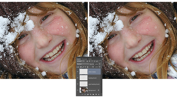 Safe Healing and Cloning in Photoshop CC