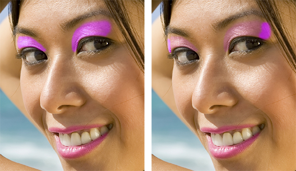 Applying Digital Makeup in Photoshop CC