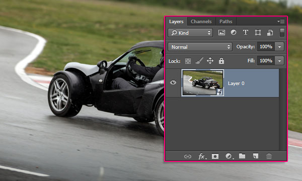 Using the Spin Blur in Photoshop CC