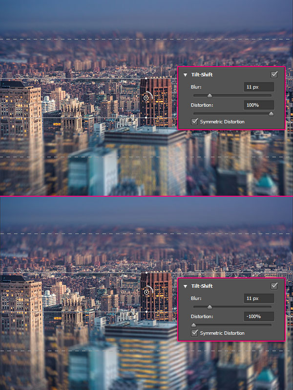 Using Iris Blur in Photoshop