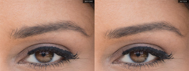 quickly trim eyebrows in photoshop planet photoshop