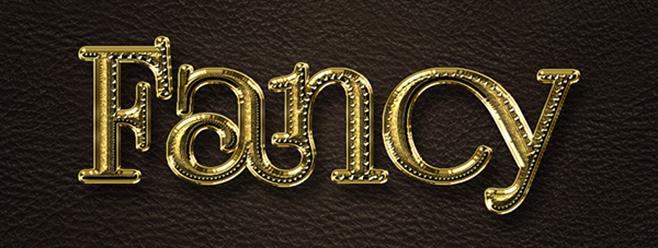 Fancy Gold Text Effect | Planet Photoshop