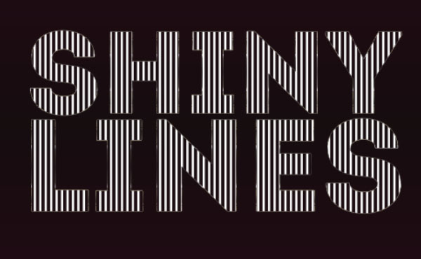 Shiny Lines Text Effect