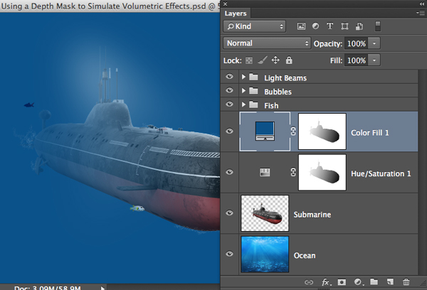 Volumetric Effects screenshot