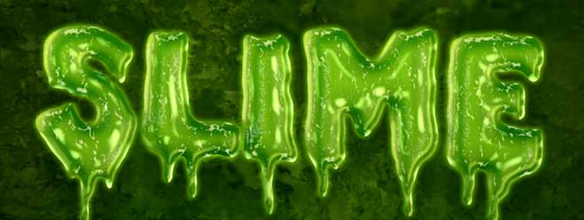Easy Slime Text Effect | Planet Photoshop