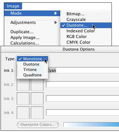 how to show cymk colours in photoshop channels panel