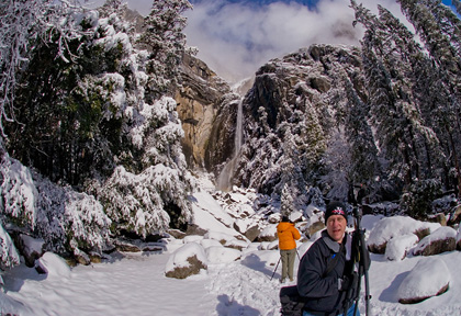 Dave's Fisheye Debuts in Yosemite
