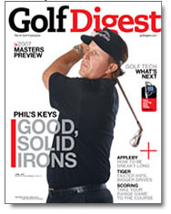 Joe McNally's Photography Feature in Golf Digest