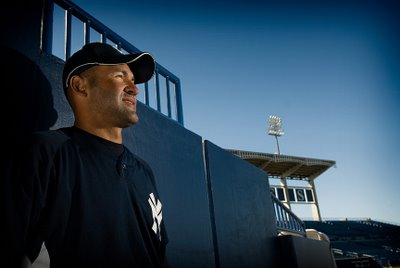 New York Yankees On Location Portrait Shoot