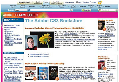 Amazon.com's new CS3 Store!