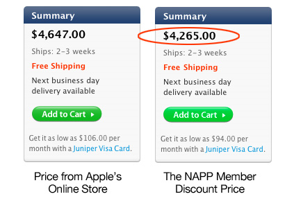 Apple desktop discount price