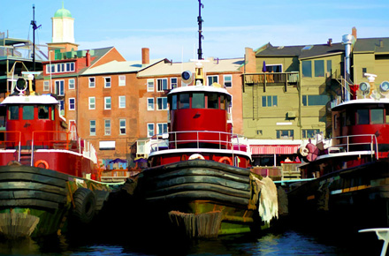 """Photowalk Tugs"" by Landya McCafferty (Portsmouth, New Hampshire)sm"