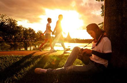 """Sunset"" by Panot Tangsucharit (Khon Kaen Provine, Thailand)sm"